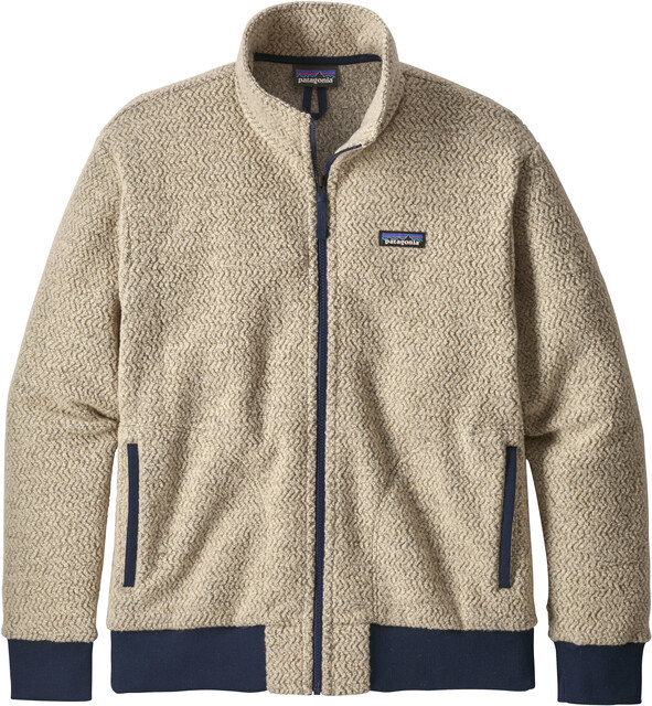 Patagonia Woolyester Fleecejacke Herren oatmeal heather